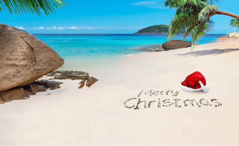 Navidad al calor del Caribe