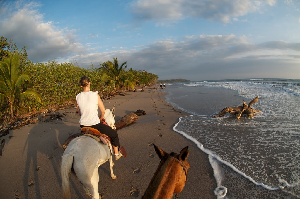 Paseo en caballo por la Península de Nicoya