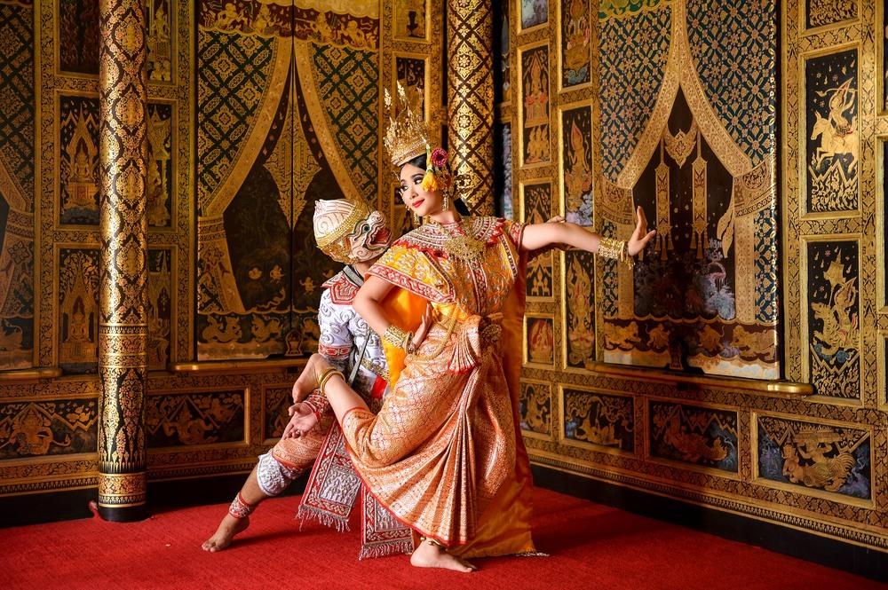 El Khon baile popular tailandés