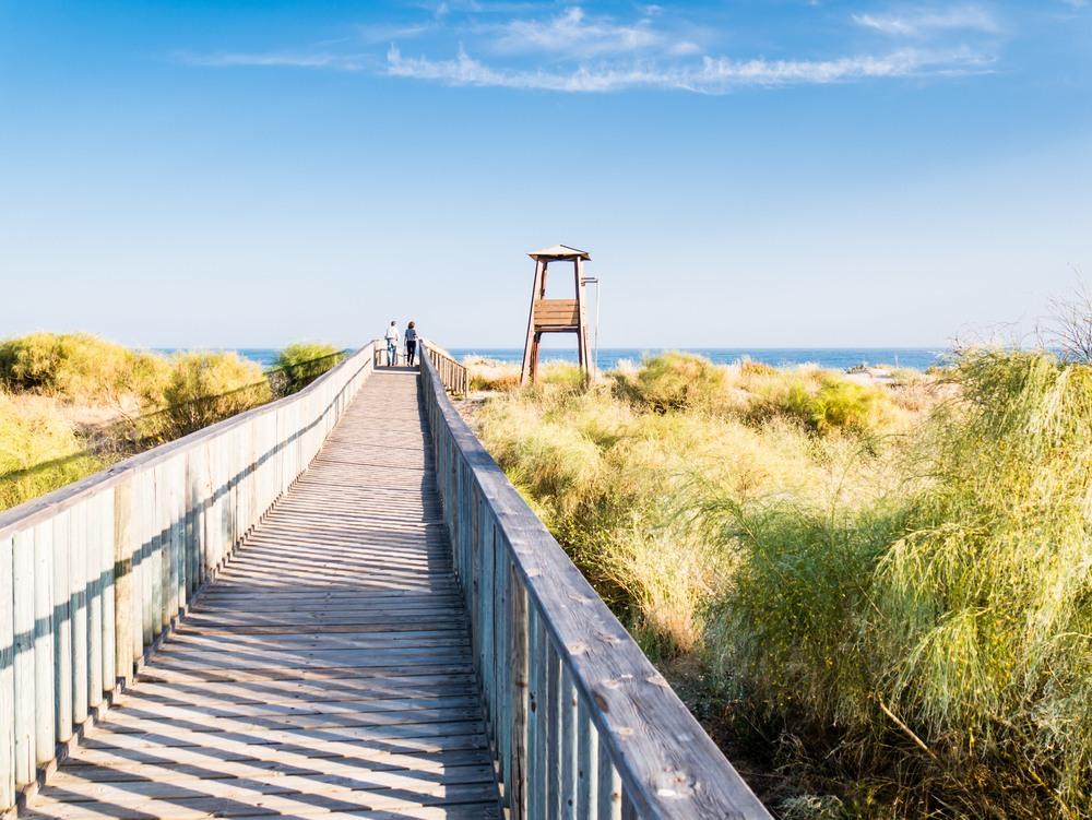 Paisaje de Islantilla, Costa de la Luz, Andalucía