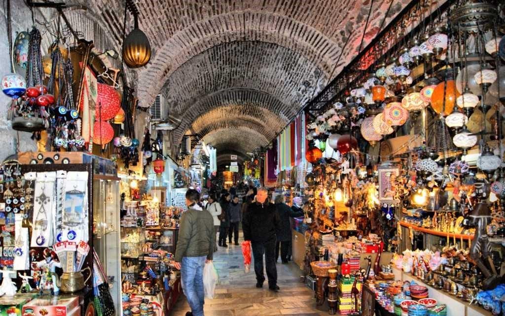 Mercado de Kemeralti en Izmir