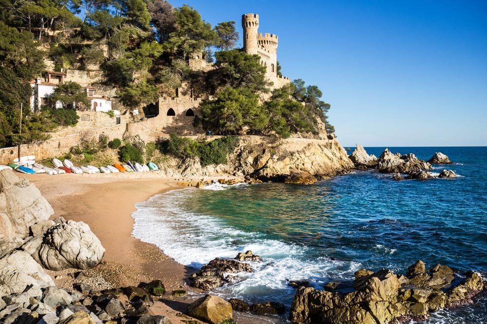 Castillo d'en Plaja, Lloret de Mar