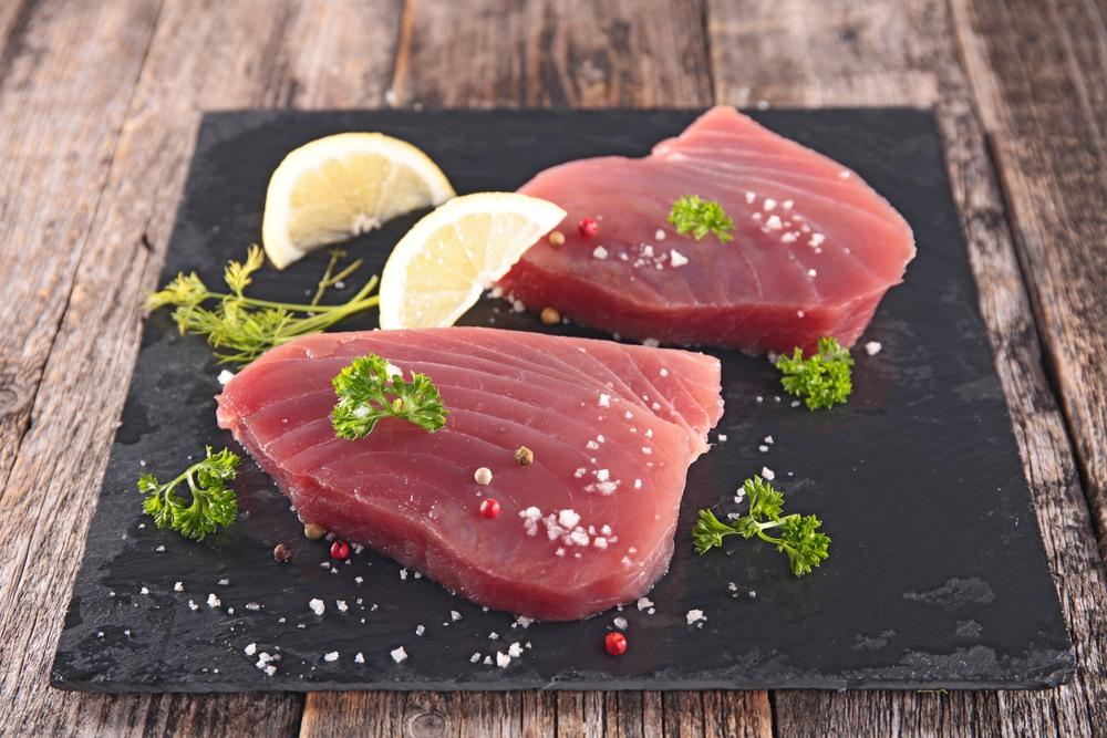 Plato de atún rojo de Almeria