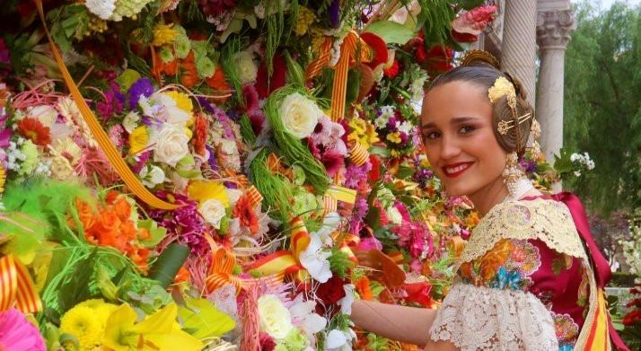 La tradición de la ofrenda de flores