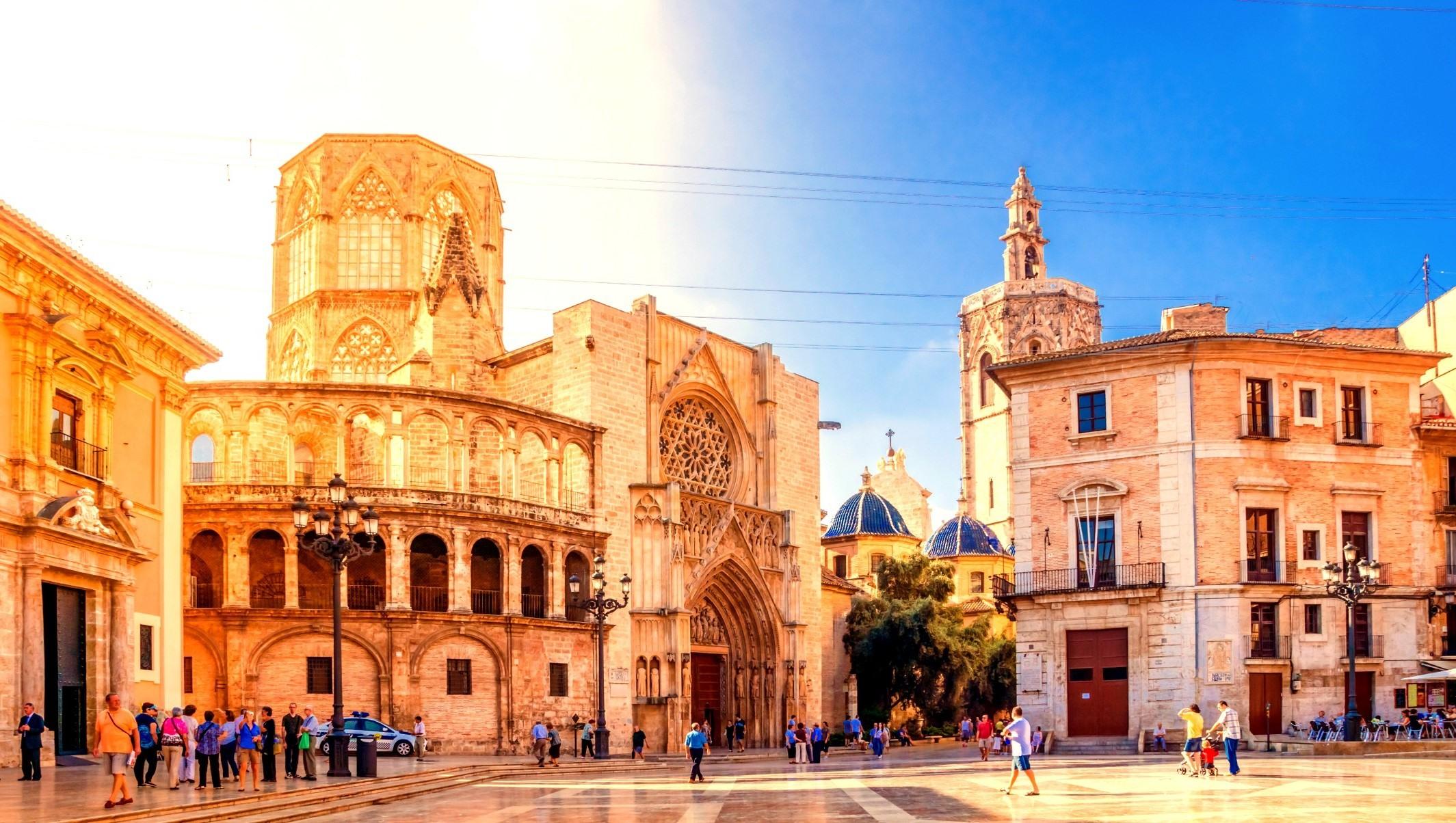Centro de la ciudad de Valencia