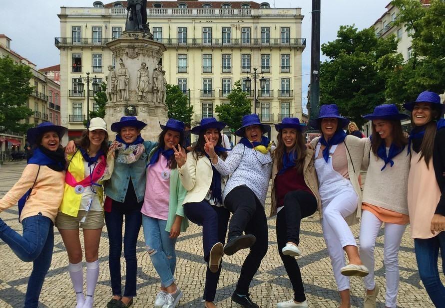 Despedida por el centro de Lisboa