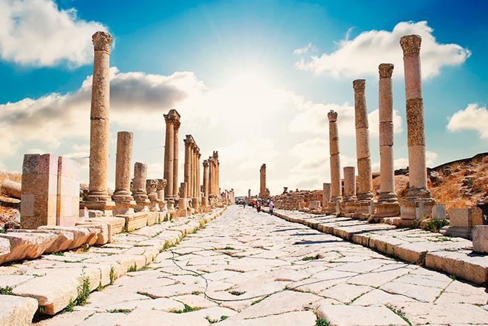 Jerash, la Pompeya del Este