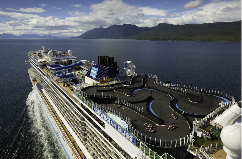 Karting en cubierta, Norwegian Bliss