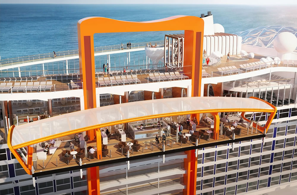 Magic Carpet, Celebrity Edge