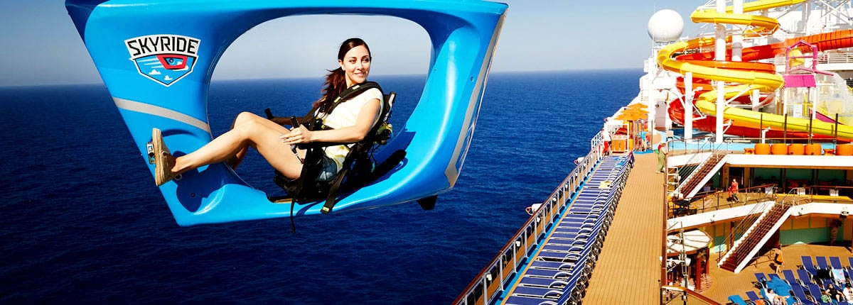 Skyride, Carnical Cruise Line