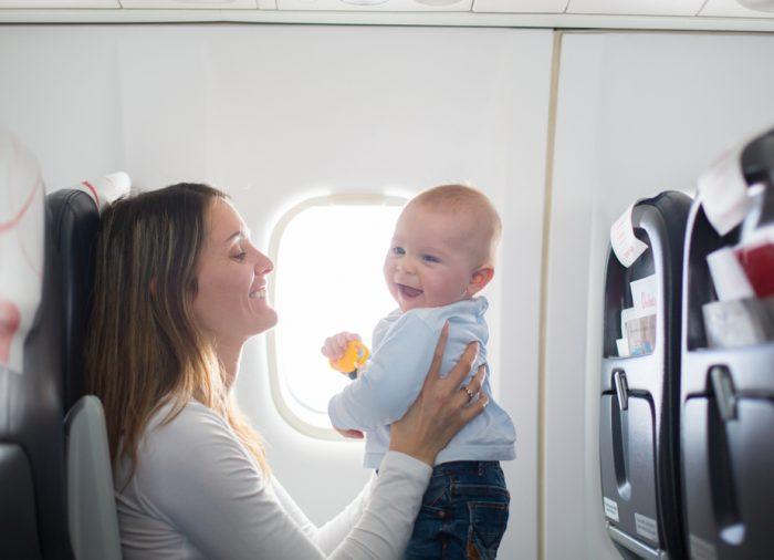 Viajar con bebés, consejos y recomendaciones