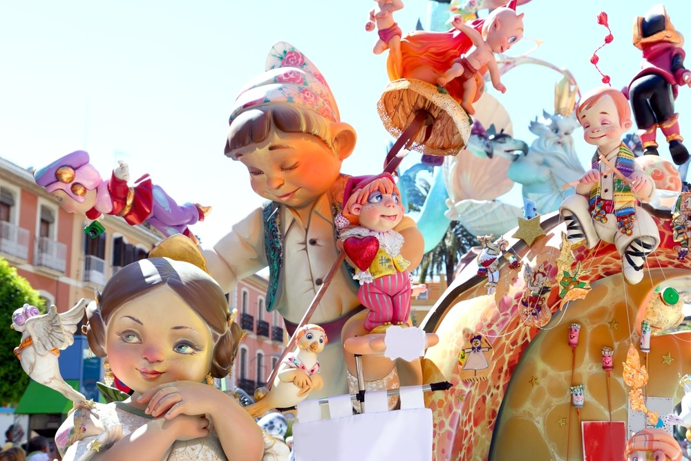 Exhibición de los Ninots