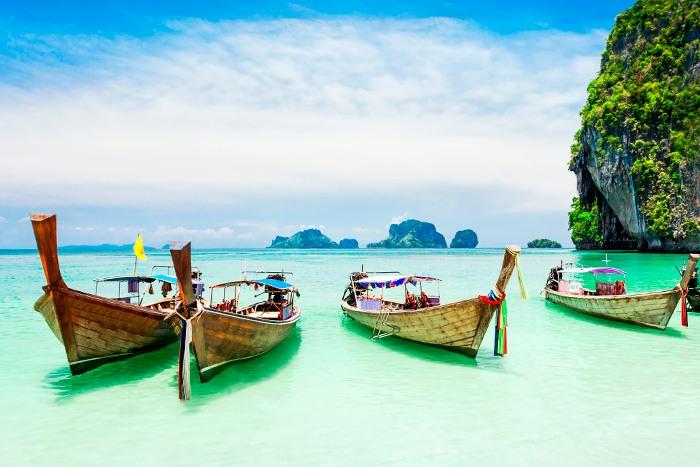 Playa en las Phi Phi