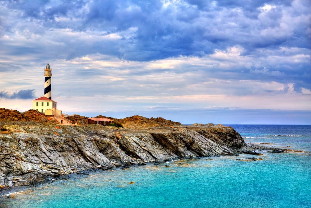 Increíbles vistas del Faro de Favàritx en Mahón, Menorca