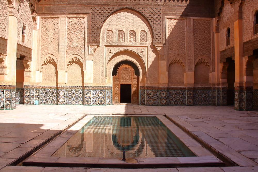 Medersa Ben Youssef en Marrakech.