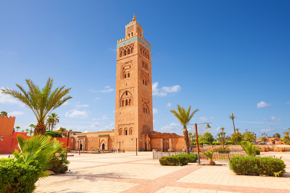 Mezquita Koutoubia, la construcción más alta de Marrakech