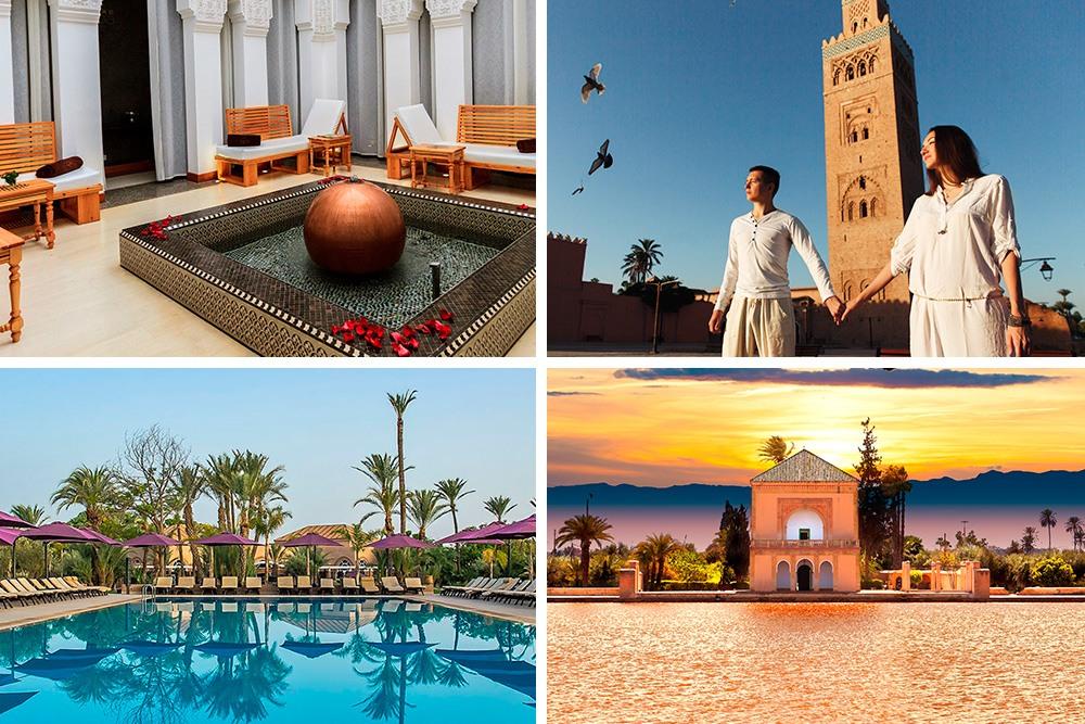 Marrakech y Hotel Barceló Palmeraie 5*, situado en el Palmeral