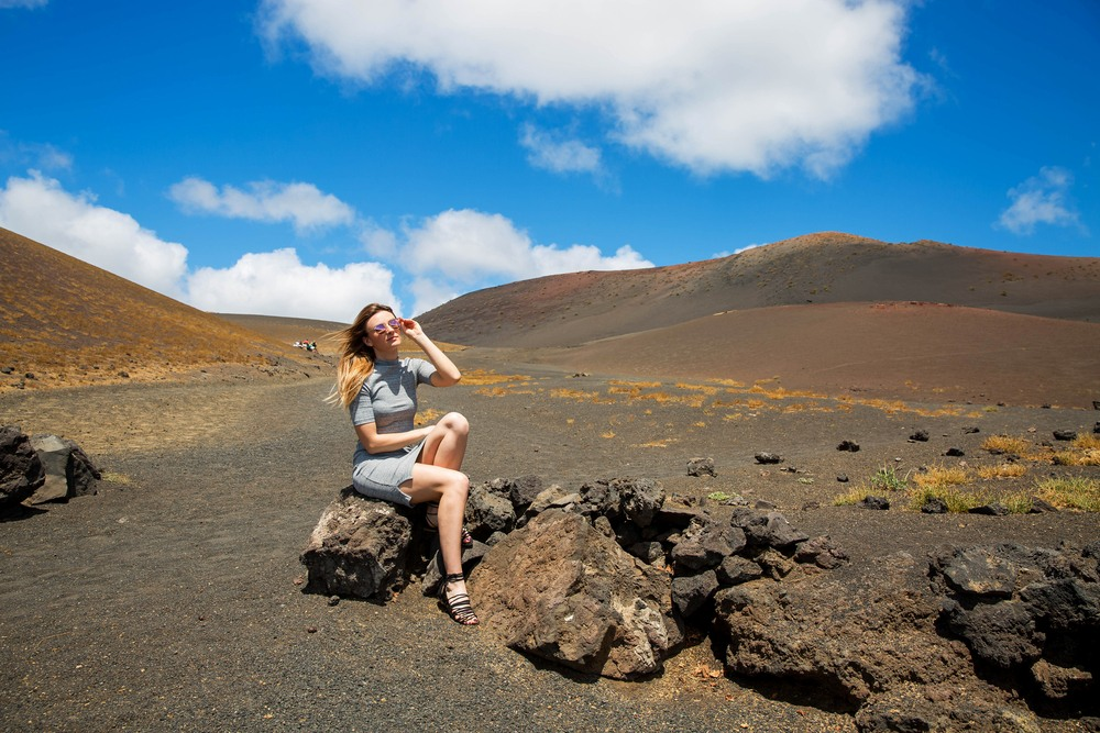 Visita al parque con vistas al volcán