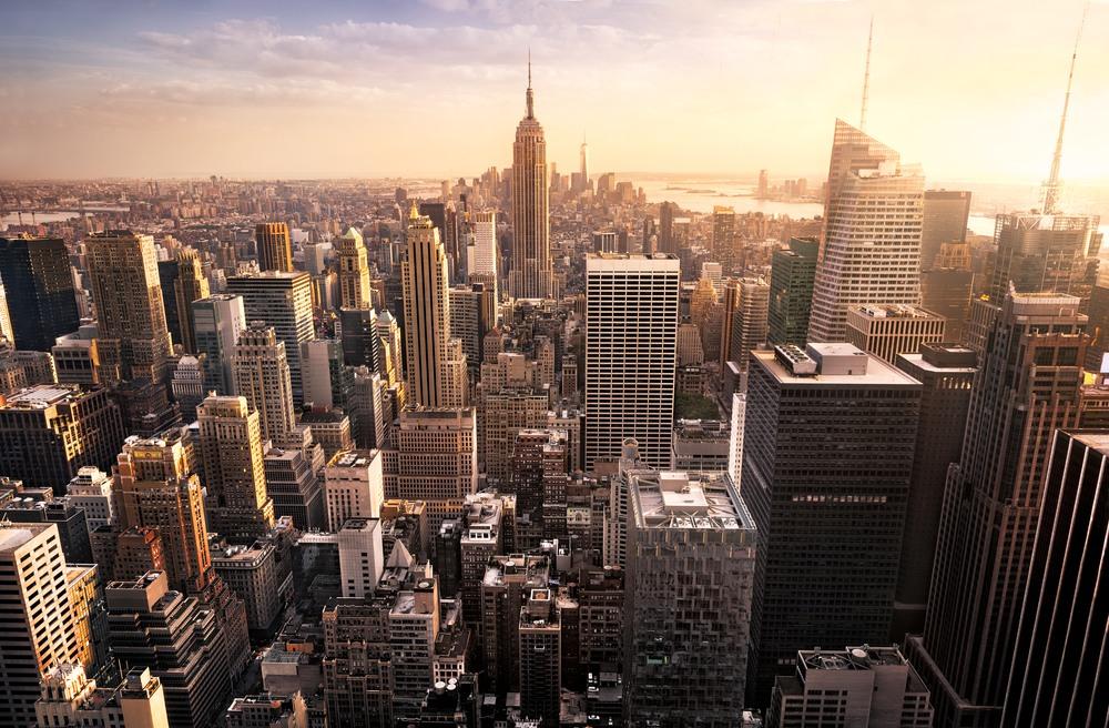 Vista general de la ciudad eterna de Nueva York