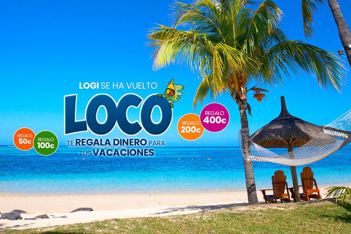 ¡Logi se ha vuelto loco! Tus vacaciones al mejor precio con Logitravel