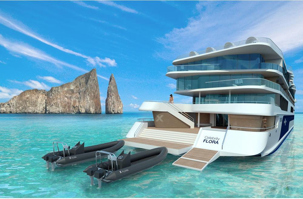 Celebrity Flora, el barco más moderno y rompedor en las Islas Galápagos