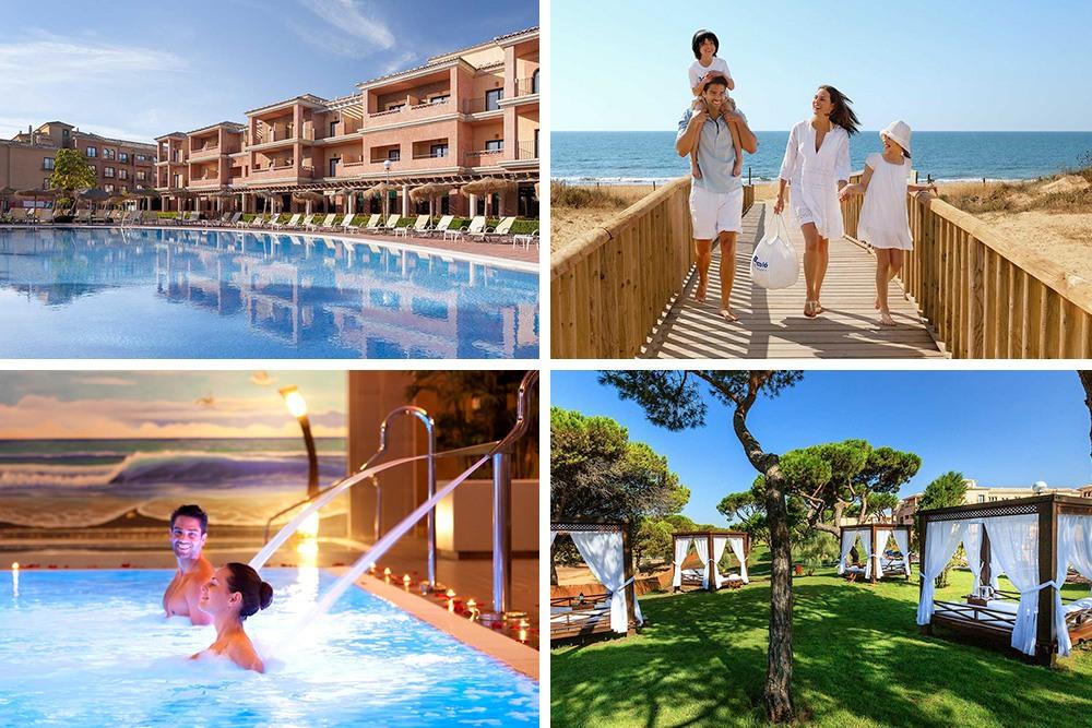 Disfruta del sol y de la playa de Punta Umbría, Costa de la Luz, Andalucía.