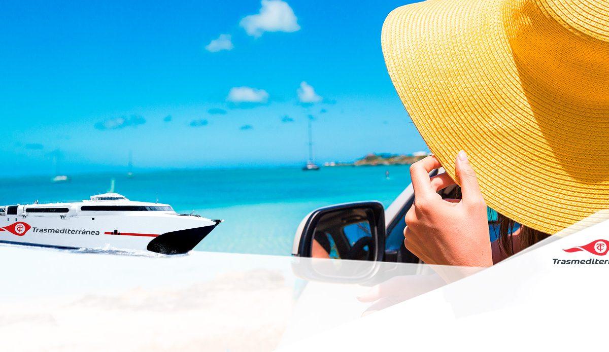 Rumbo a Ibiza con Trasmediterránea