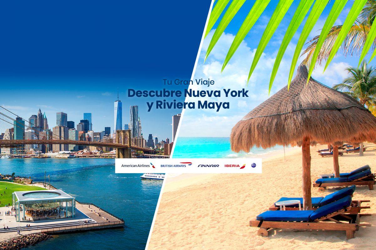 Nueva York y Riviera Maya: la combinación perfecta