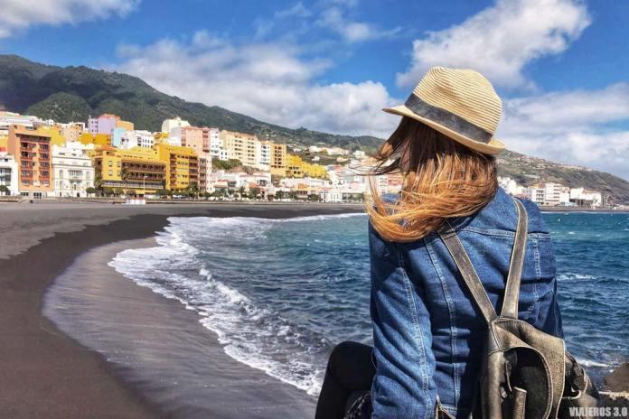 Paseo por la playa de Santa Cruz de la Palma