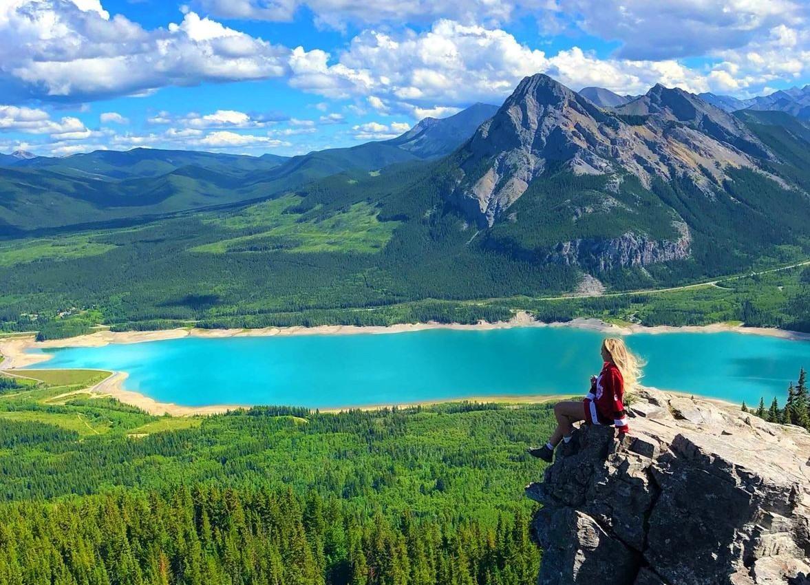 Excursión en un Parque Nacional de Canadá