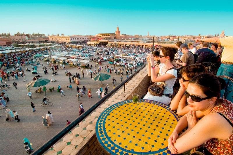 Popular Medina en Marrakech