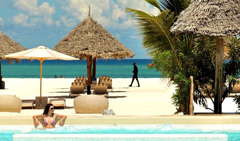 Hotel en Zanzibar a pie de playa