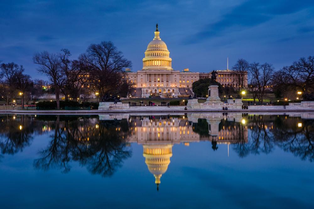 El Capitolio, Washington. TAP Air Portugal