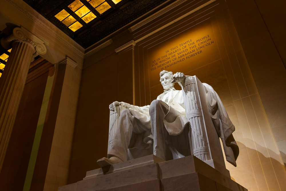 Abraham Lincoln Memorial, Washington.