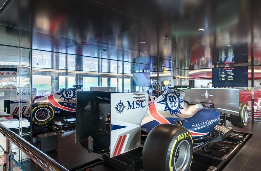 Doble simulador de Formula 1