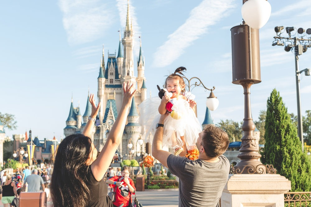 Visita a Walt Disney World en familia
