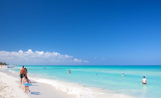 Playa Bonita en Cayo Sabinal