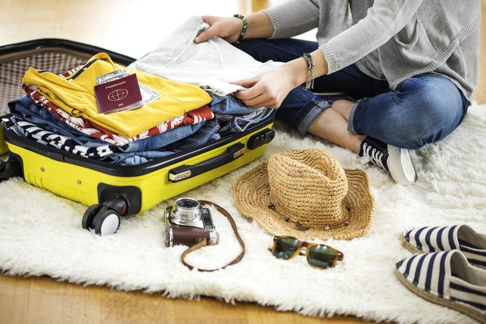 Preparar la maleta con detenimiento