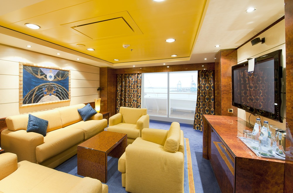 Suite MSC Yatch Club