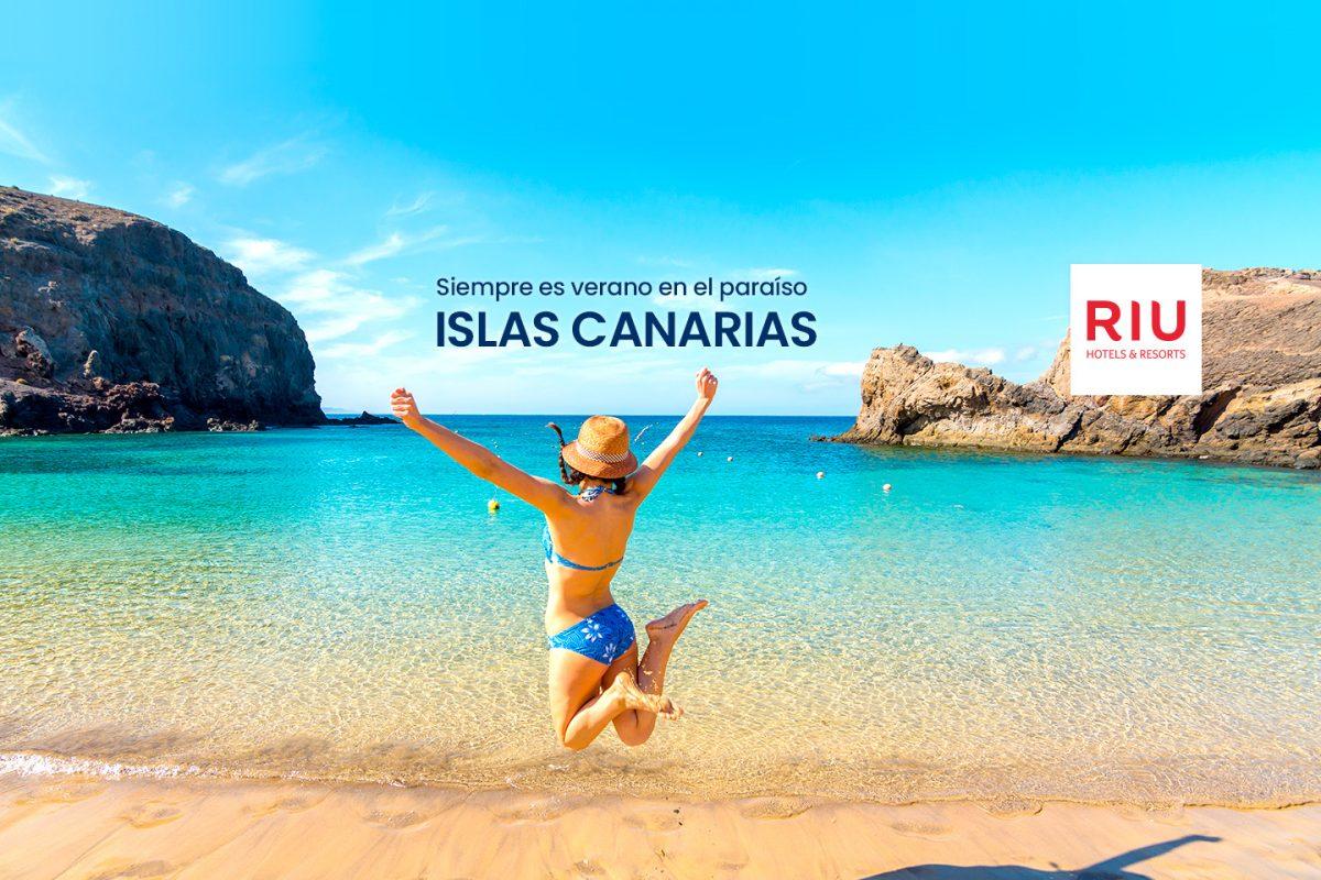 Vive las Islas Canarias con Riu Hotels & Resorts