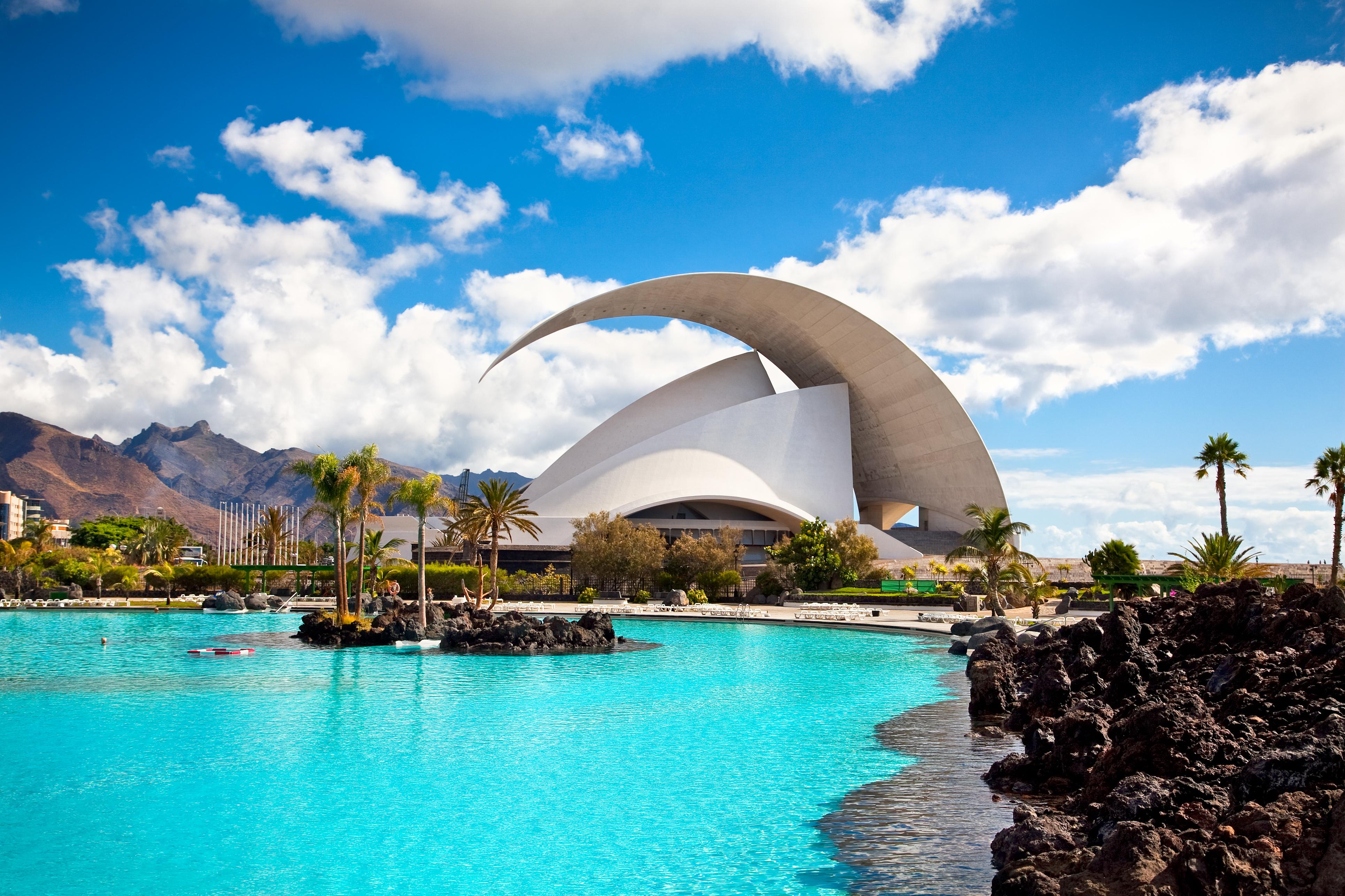 Auditorio de Tenerife, símbolo de arquitectura de las islas.