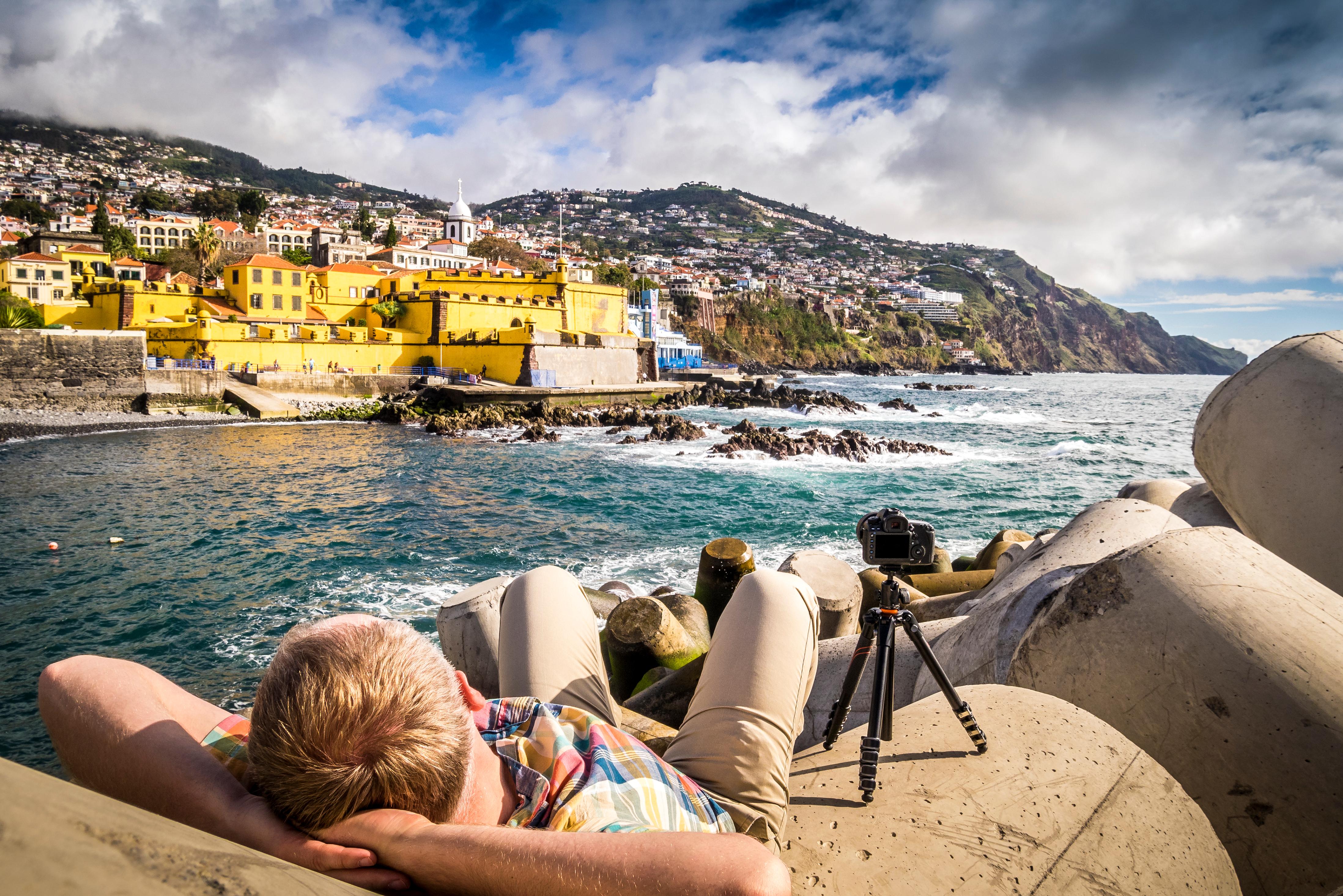 Increíbles vistas de Funchal, Madeira (Portugal)