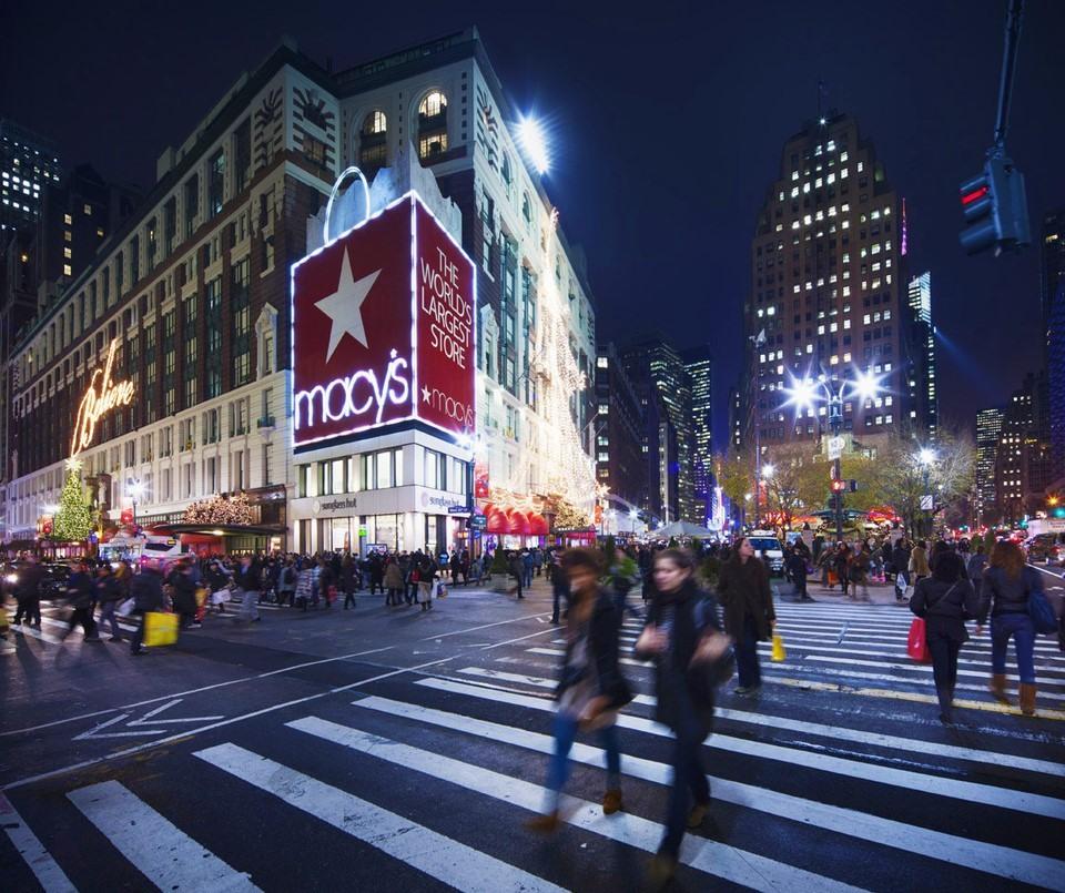 Centro comercial Macy's en la Quinta Avenida