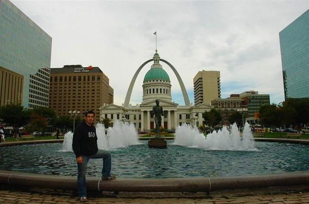 Vistas frente al GateWay Arch