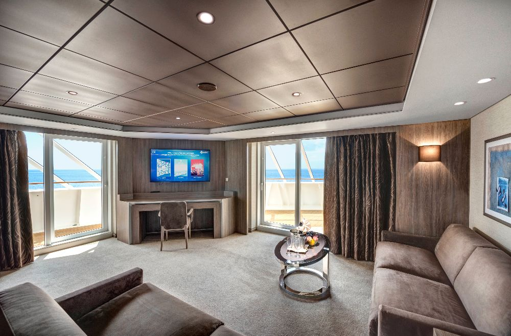 Royal Suite Yacht Club en el MSC Bellissima