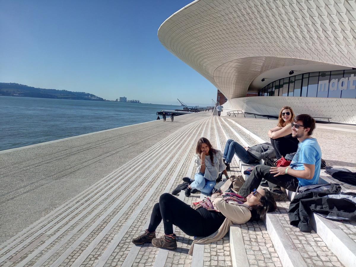 Visita al Museo Maat en Lisboa