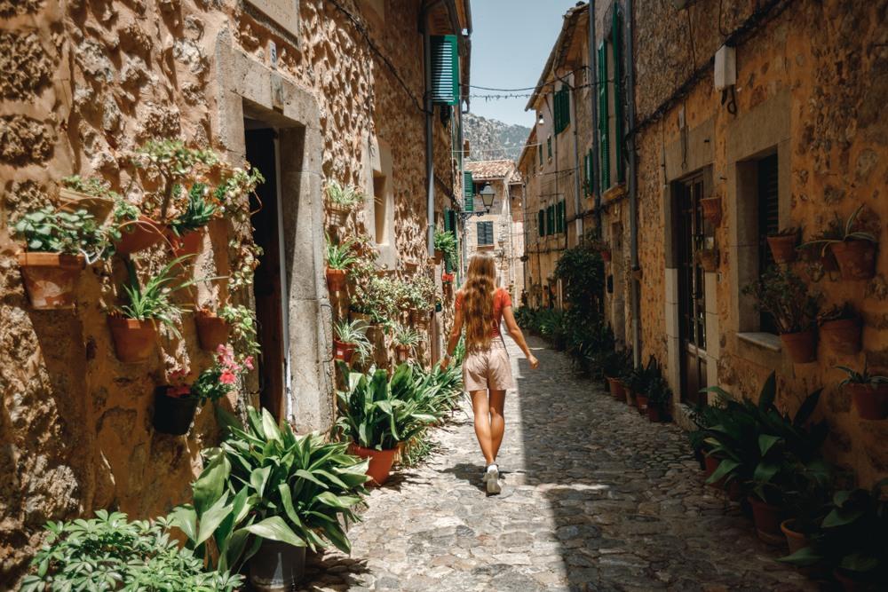 Paseando por las calles de Valldemossa