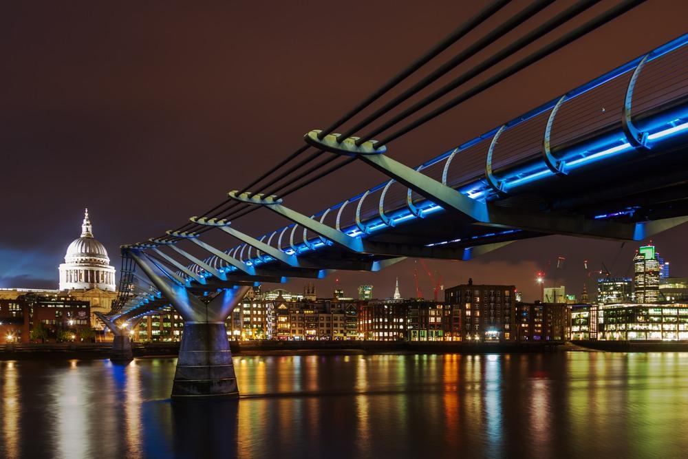 Puente del Milenio en Londres