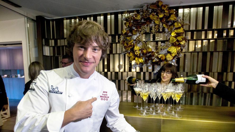 Jordi Cruz en su Restaurante Abac