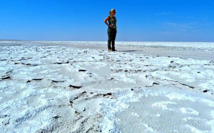 Excursión a los Salares de Makgadikgadi